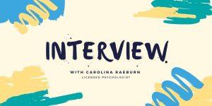 Interview with carolina raeburn