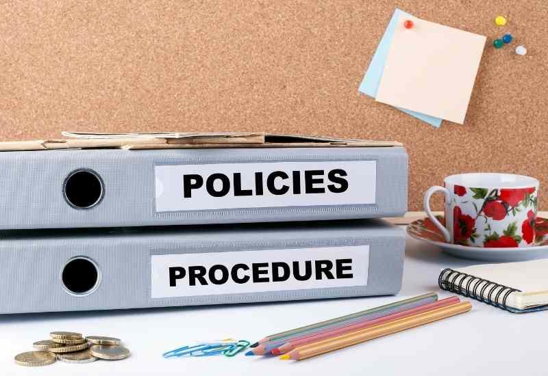 patient policies and procedures